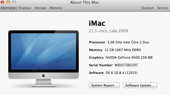 Mac OS without serial number